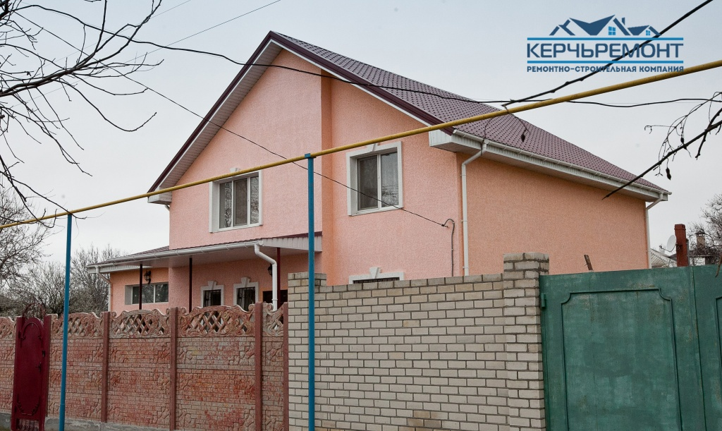 Отделка фасадов дома с утеплением